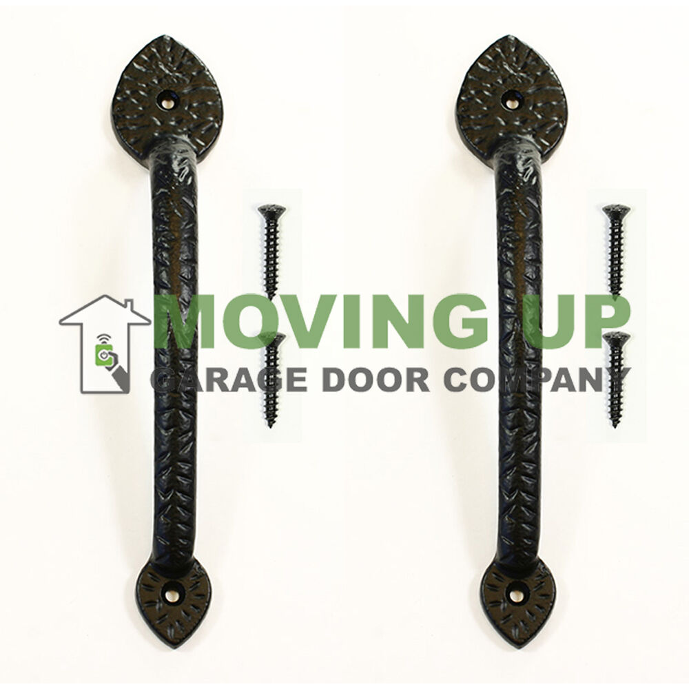Garage Door Decorative Spear Pull Handles 10 Quot Cast Iron