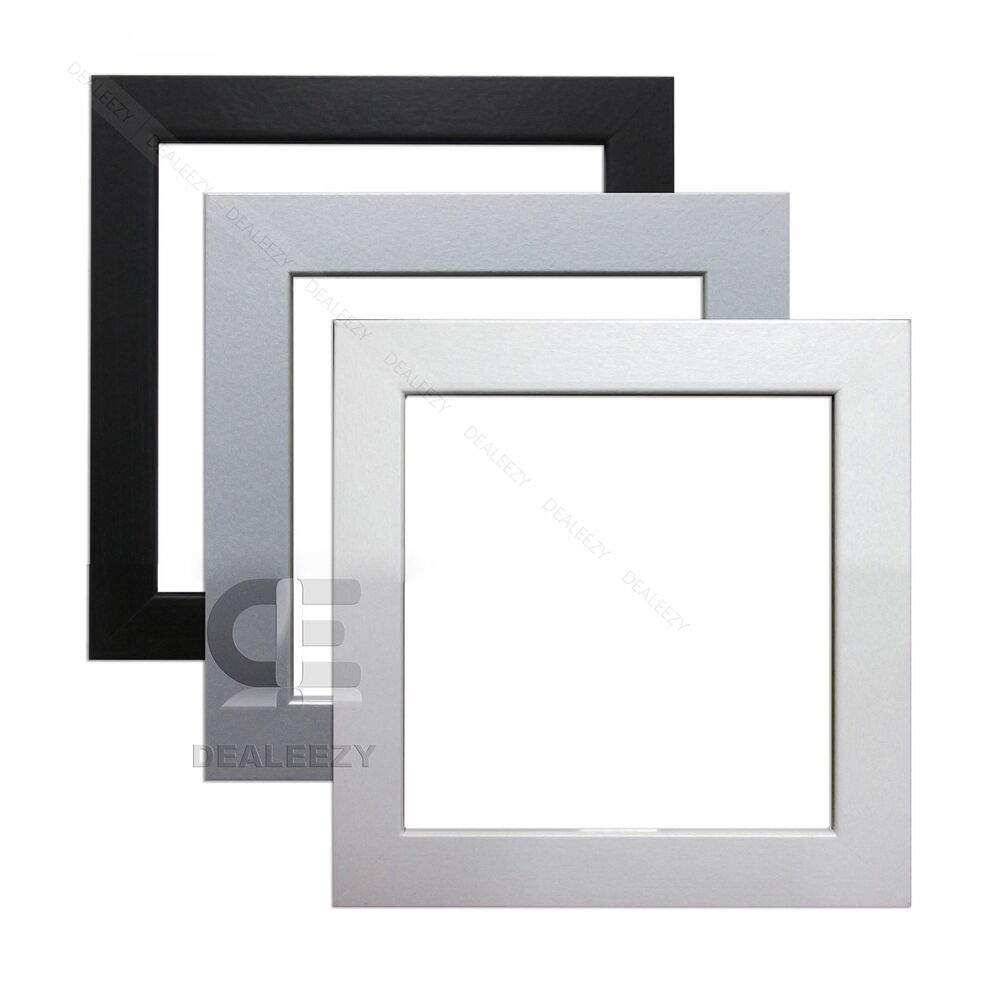 Modern Style Square Picture Photo Frames Black White