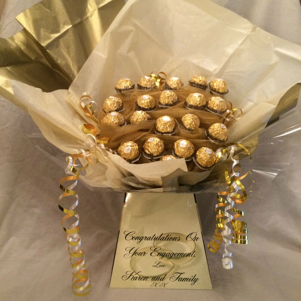 A Wedding Gift By Guy De Maupassant Summary : ENGAGEMENT / WEDDING - FERRERO ROCHER SWEET CHOCOLATE BOUQUET HAMPER ...