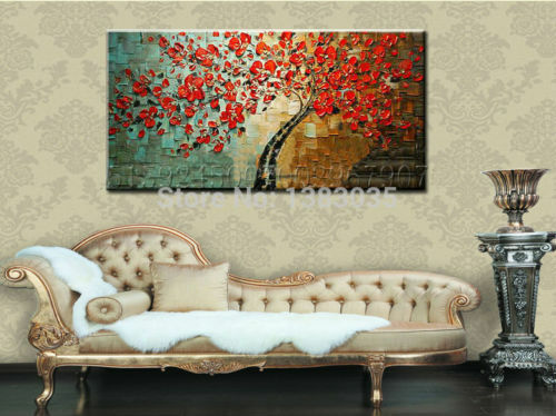 NOT FRAMED Oil Painting on Canvas Home Decor Wall Art