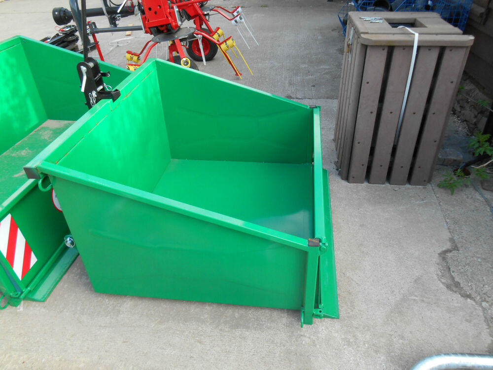 Tractor Carry All Box : Tractor transport box compact link carry
