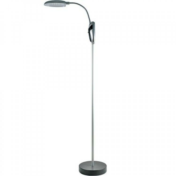 trademark home cordless portable battery operated led floor lamp. Black Bedroom Furniture Sets. Home Design Ideas