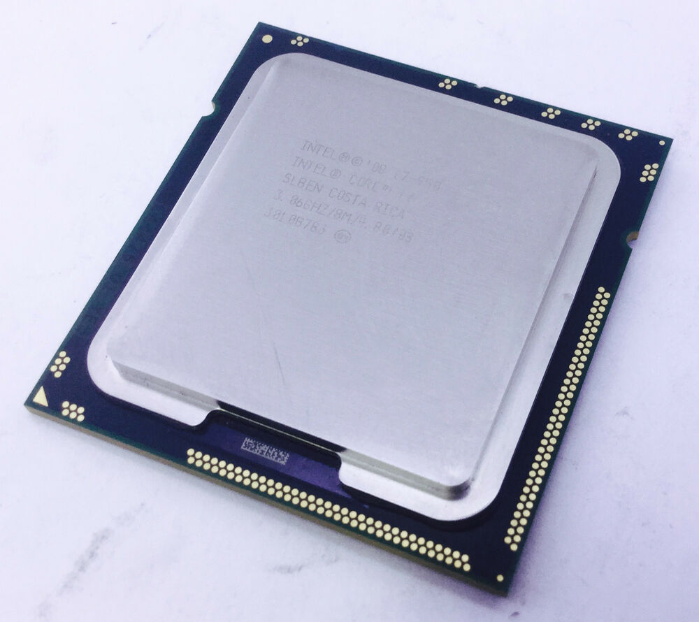 intel core i7 950 slben quad core cpu lga 1366 at80601002112aa 4 8gt s ebay. Black Bedroom Furniture Sets. Home Design Ideas