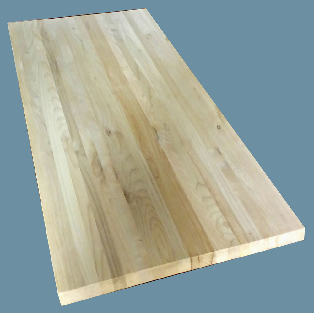 Maple butcher block quot counter top solid