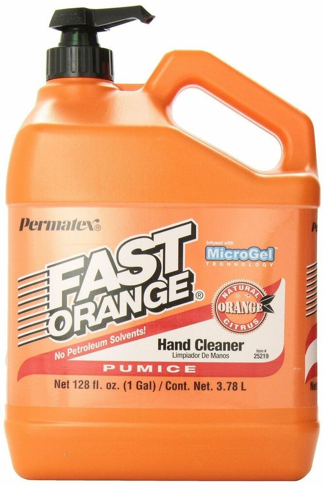 Permatex 25219 Fast Orange Pumice Lotion Hand Cleaner Soap