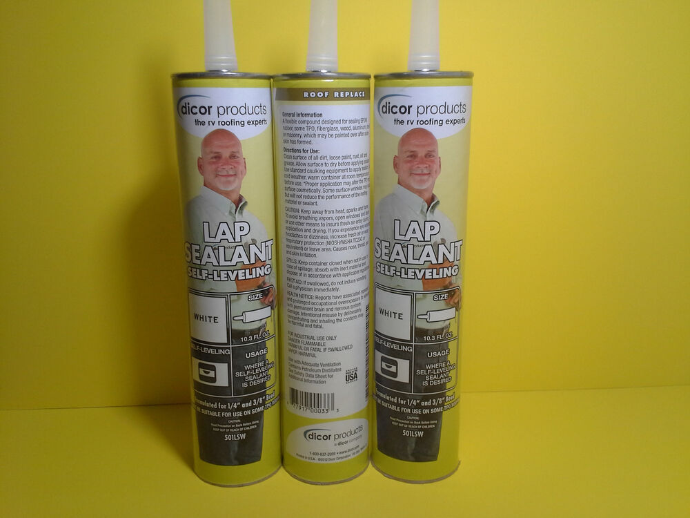 4 Rv Motorhome Dicor Epdm Rubber Roof Sealant Self