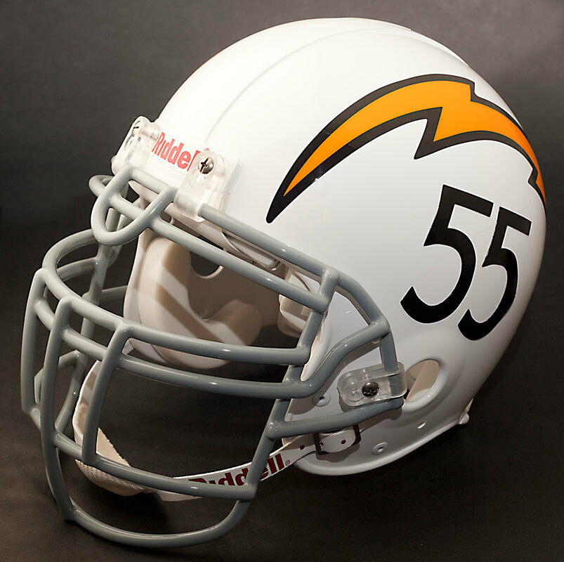 San Diego Chargers Helmet: JUNIOR SEAU Edition SAN DIEGO CHARGERS Riddell REPLICA