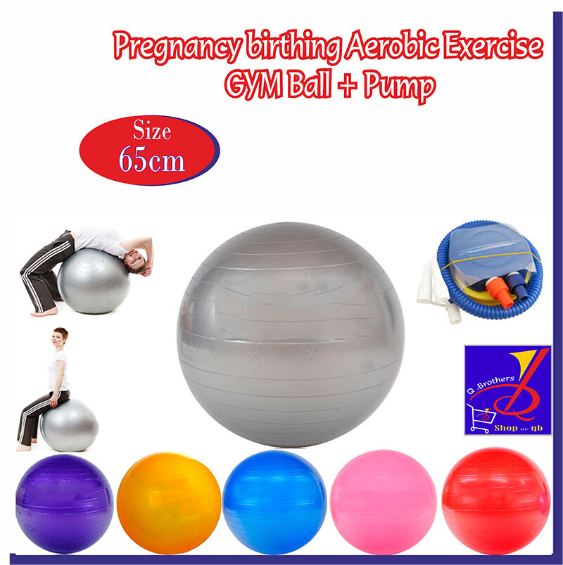 Balance Ball Induce Labor: Pregnancy Birthing Aerobic Exercise Fitness GYM Yoga Ball