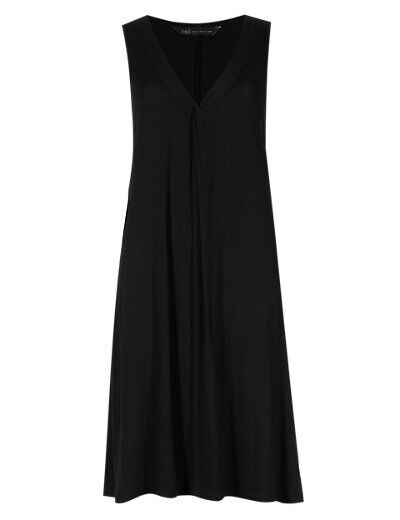 MARKS & SPENCER LADIES WOMENS TWISTED FRONT SHIFT DRESS ...