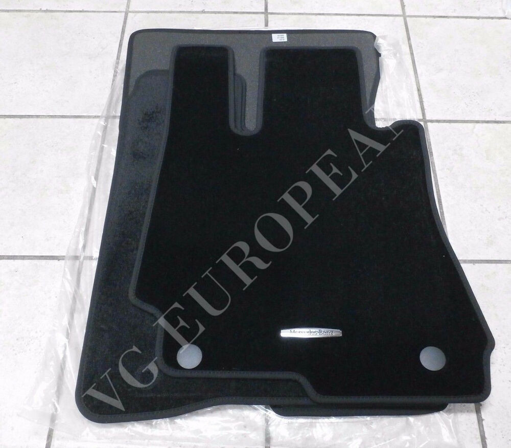 mercedes benz w221 s class genuine carpeted floor mat set