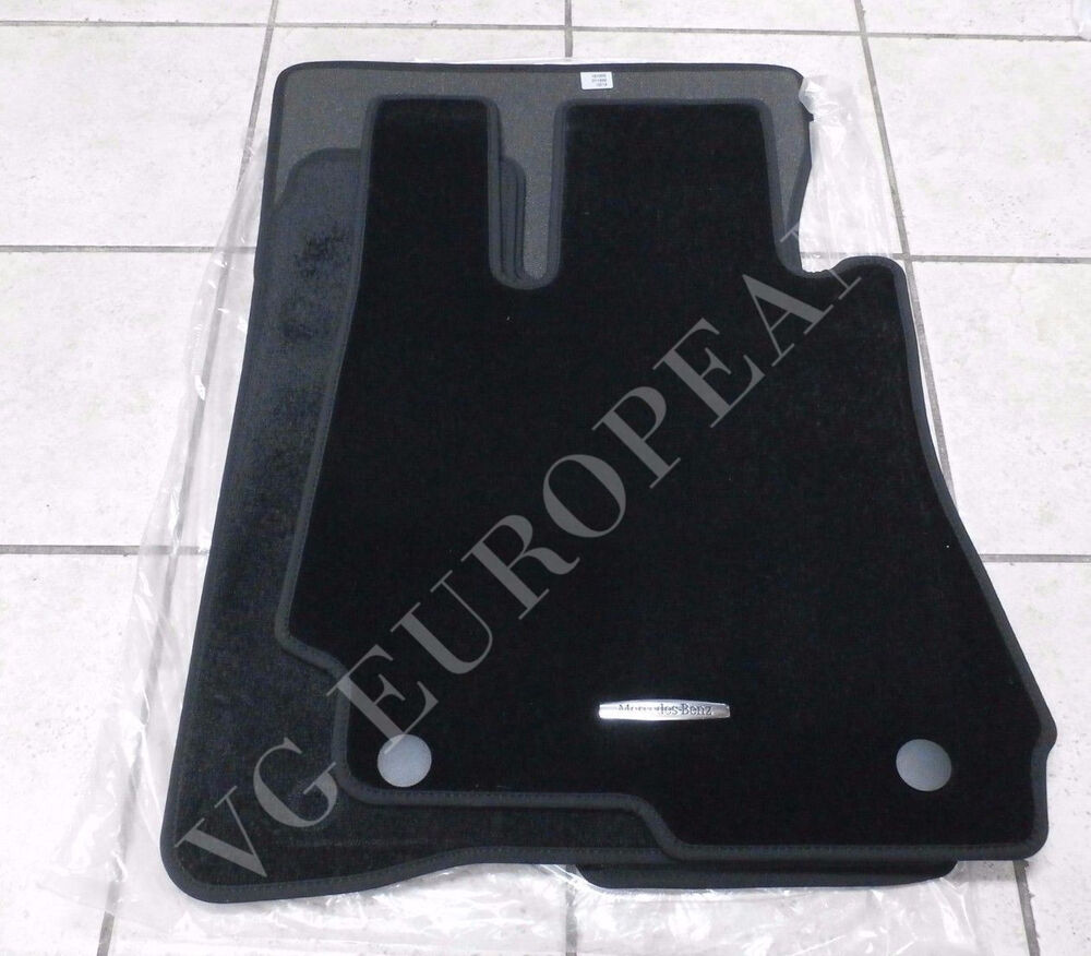 Oem mercedes floor mats mercedes benz genuine oem for Mercedes benz sl550 floor mats