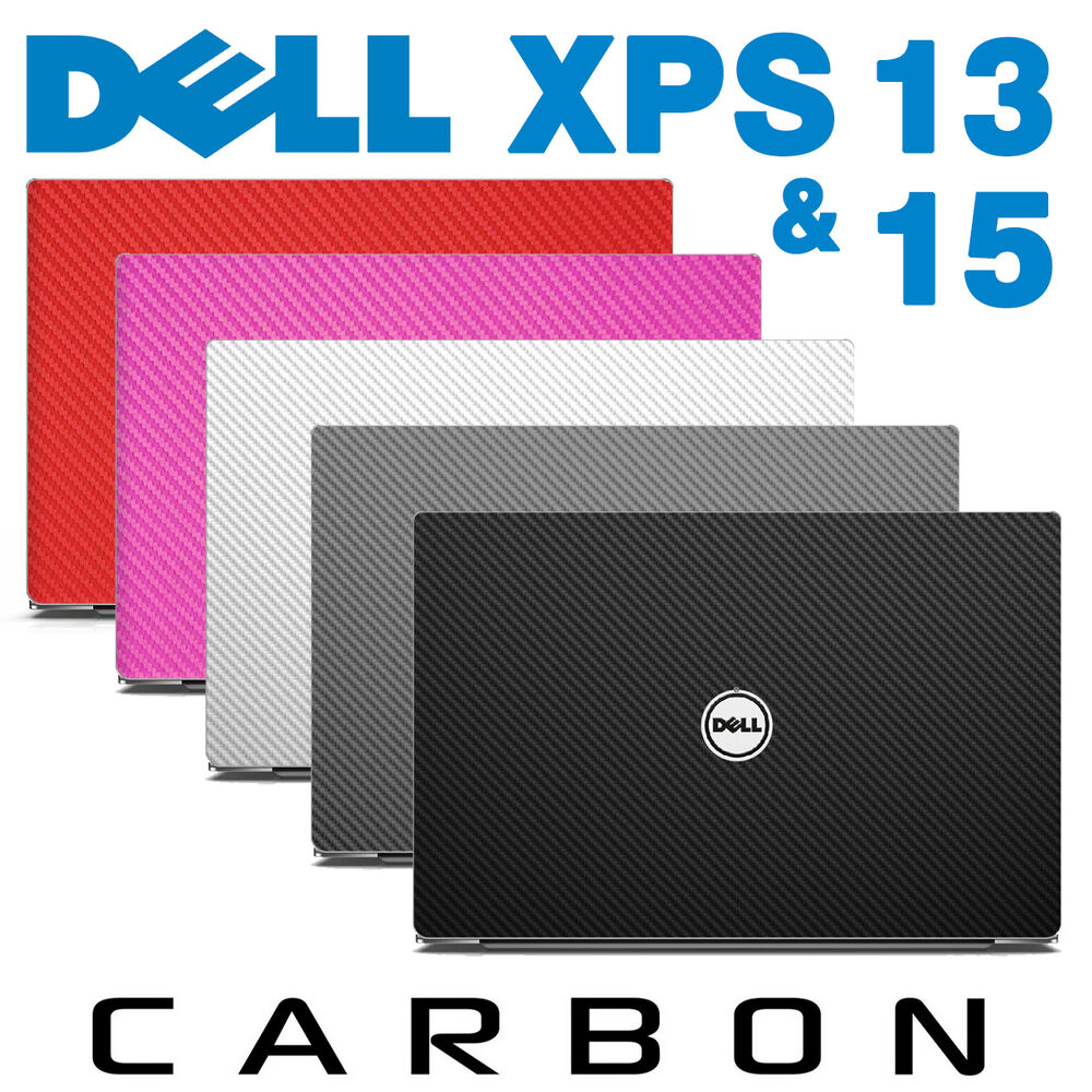 Textured Carbon Fibre Skin Dell Xps 13 15 9343 9350 9360