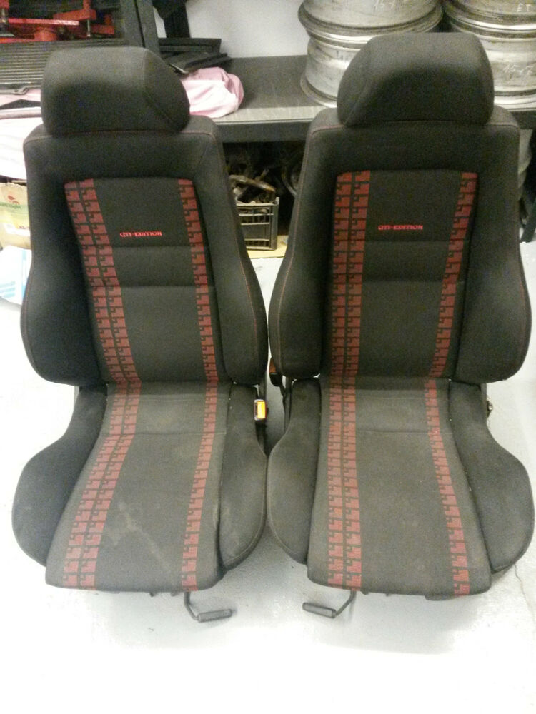 vw golf mk3 vento gti limited edition recaro red black. Black Bedroom Furniture Sets. Home Design Ideas