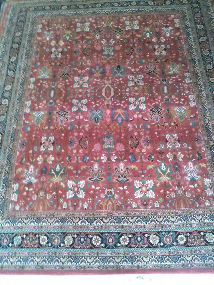 Hand Knotted Area Rug Brids Of Paradise Orchid Colors Wool
