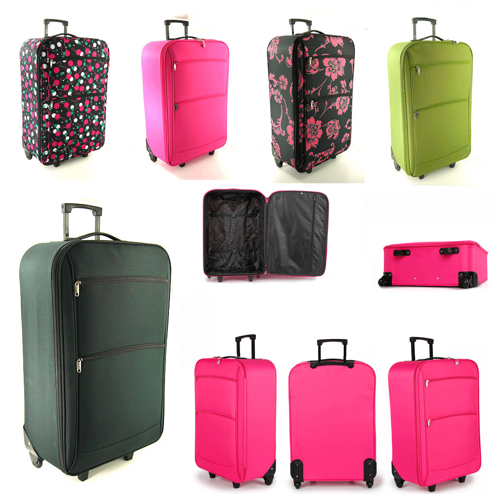"XL Extra Large 30 "" Lightweight Travel Wheeled Trolley ..."