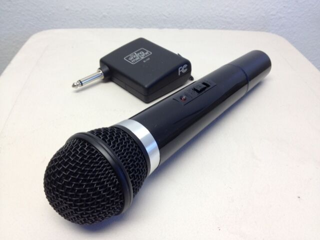 singing machine wireless microphones