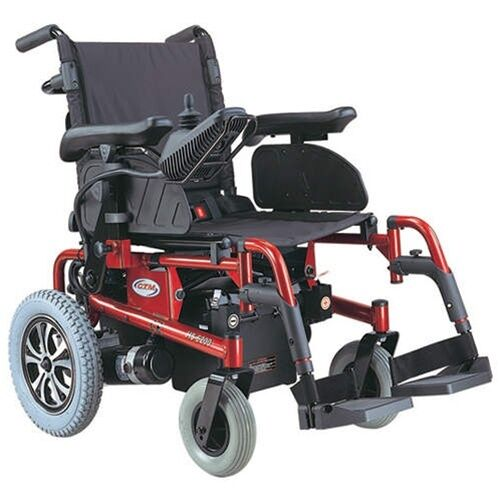 Ctm hs 6200 folding electric power chair blue ebay for Mobility scooter motors electric
