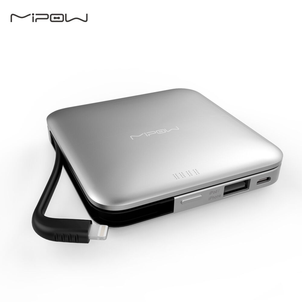 Mipow power bank 9000mah portable charger battery mfi for Iphone x portable charger
