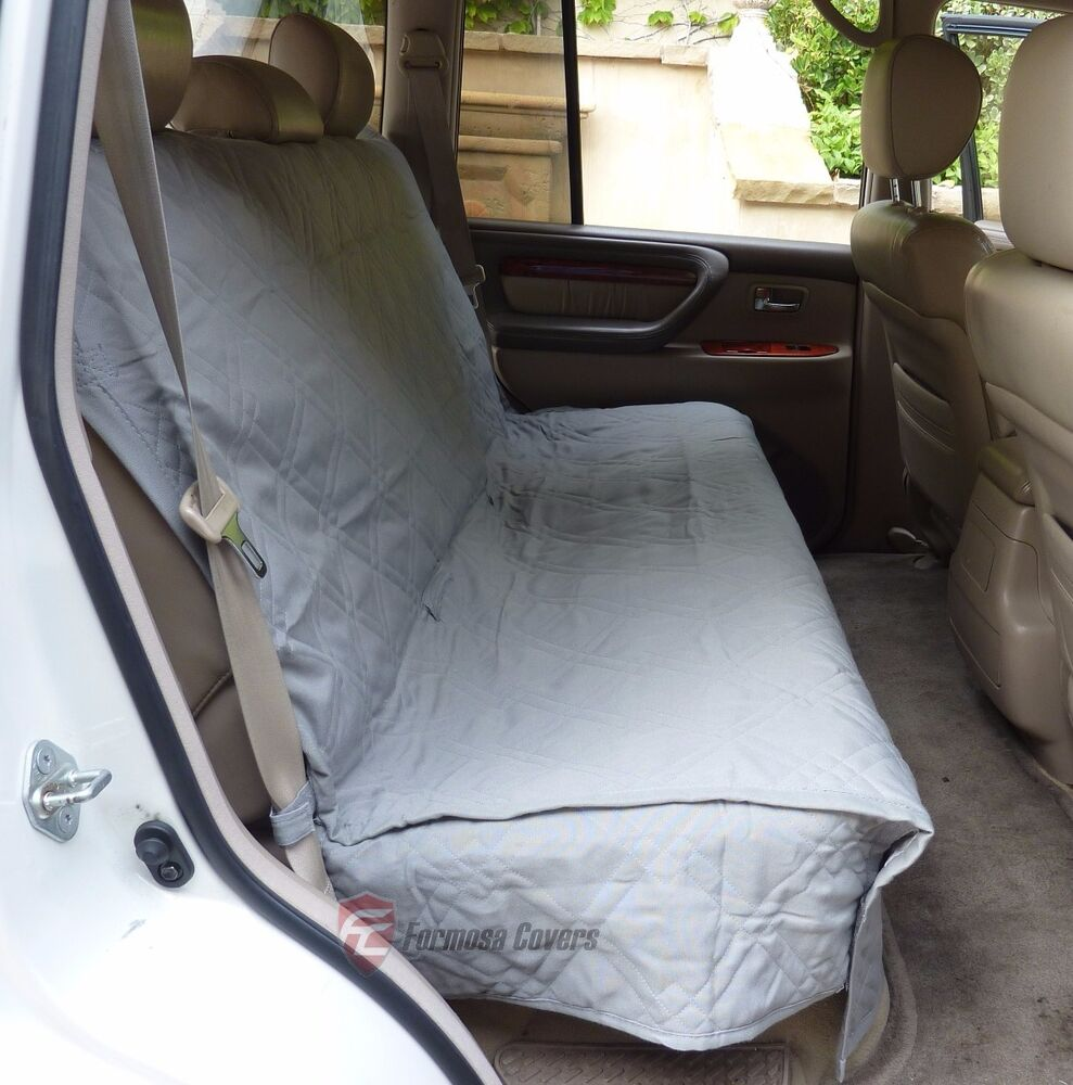 Suv Truck Car Back Seat Bench Cover For Dogs And Cats