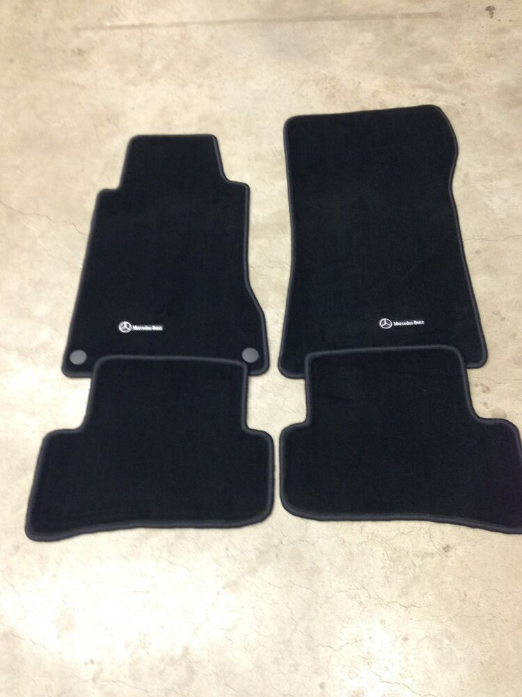 oem mercedes benz c class w203 s203 anthracite carpeted floor mats. Cars Review. Best American Auto & Cars Review