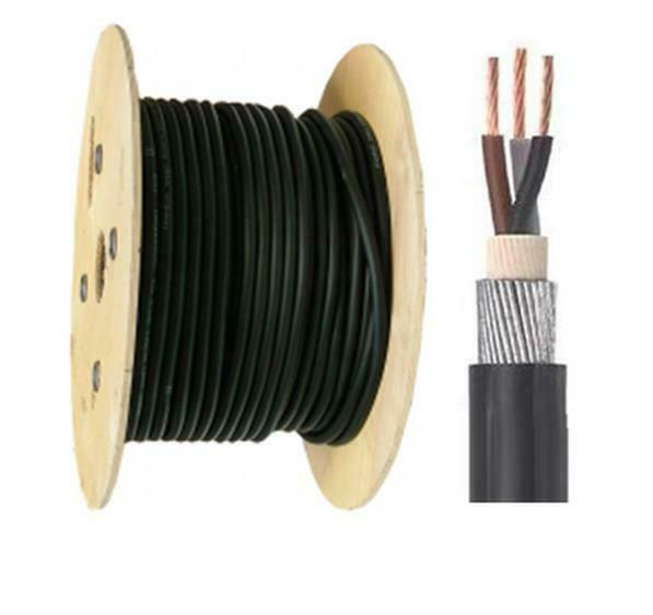 2 5 Pvc Cable : Mm core meter pvc steel wire armoured cable