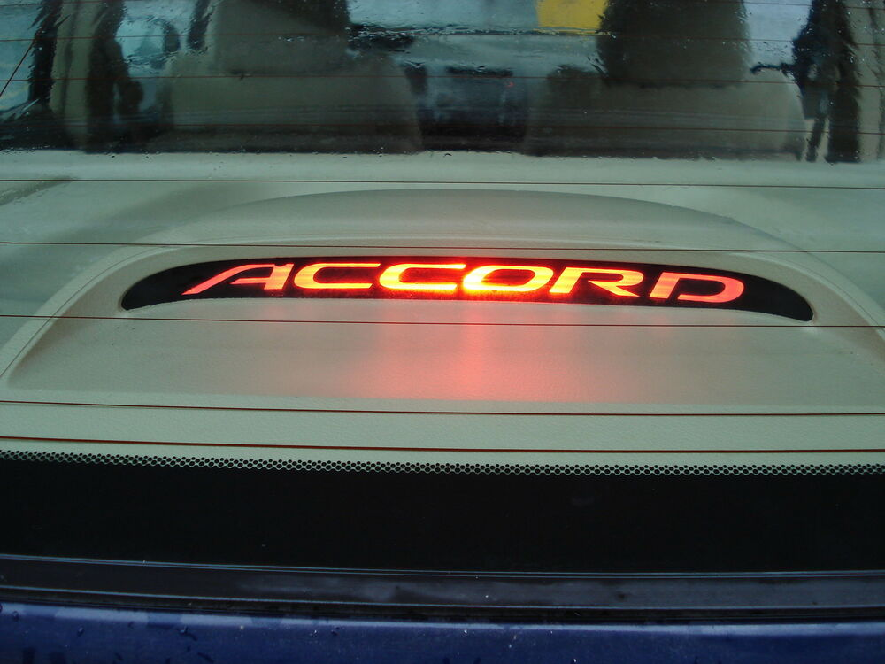 Honda Accord Rd Brake Light Decal Overlay - Honda accord decals stickers