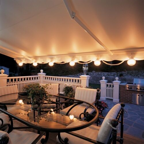 Outdoor Lights On Patio: SunSetter Outdoor Deck & Patio Lights For SunSetter