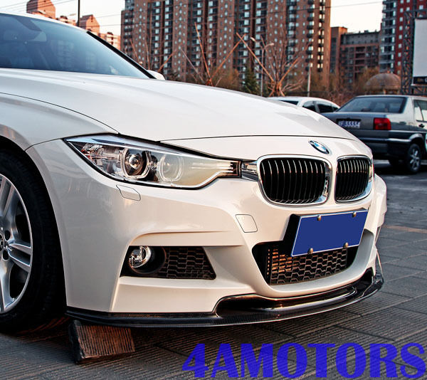 Car And Truck Shop >> BMW F30 M-TECH FRONT CARBON FIBER FRONT LIP SPOILER 320i ...