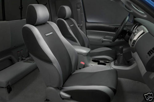 Toyota Tacoma 2005 08 Oem Seat Covers Graphite Interior Ebay