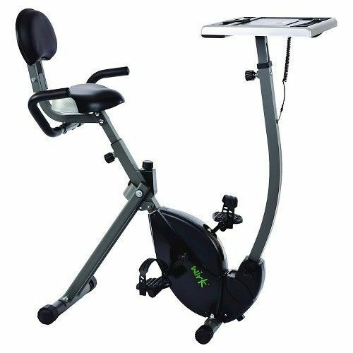 Stamina Wirk Ride Exercise Bike Workstation Standing Desk