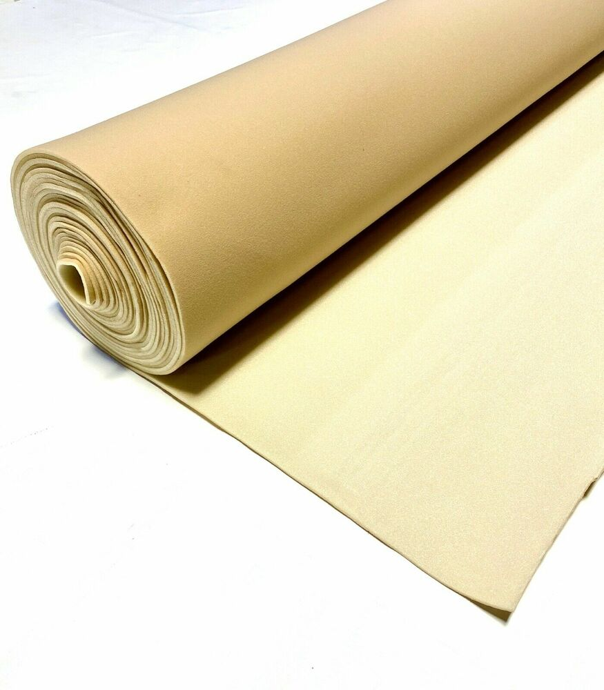 golden tan upholstery auto pro headliner fabric 3 16 foam backing 120 l x 60 w ebay. Black Bedroom Furniture Sets. Home Design Ideas