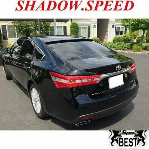 2013 Toyota Avalon Exterior: Unpainted B Type Rear Roof Spoiler Wing For Toyota Avalon