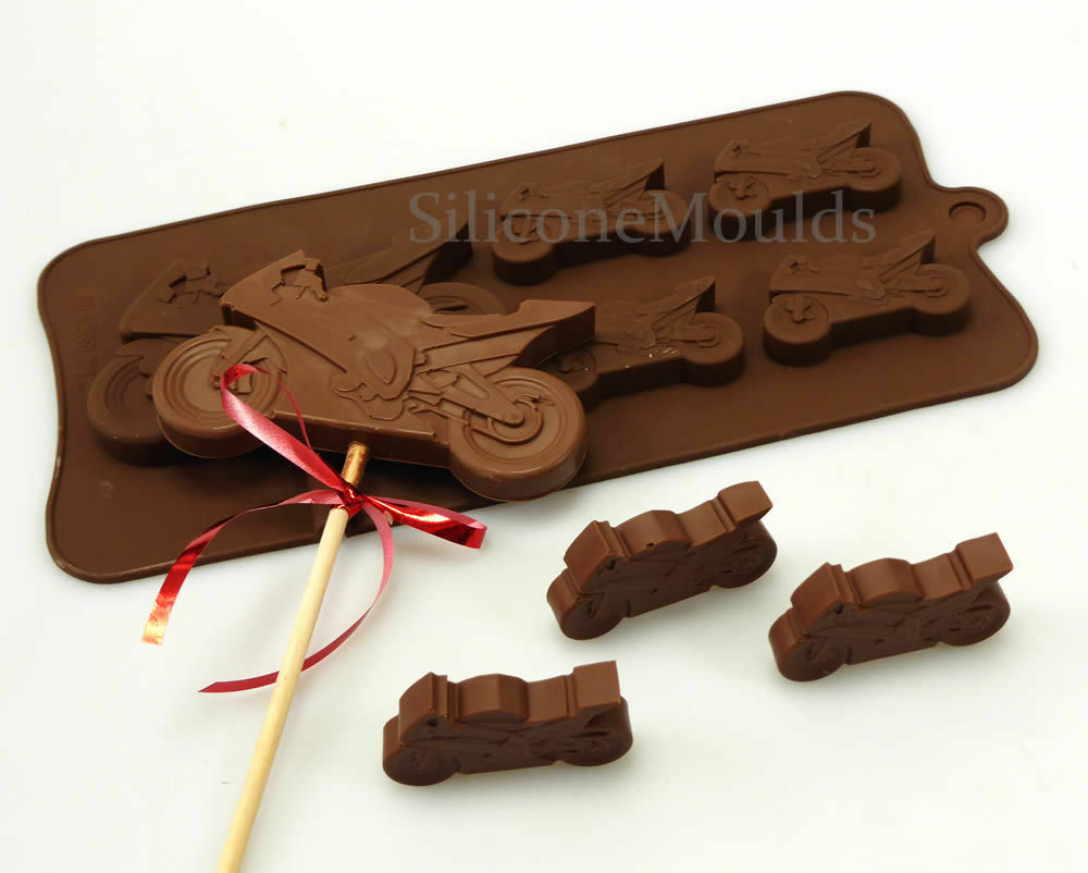 Chocolate Motorcycle Candy