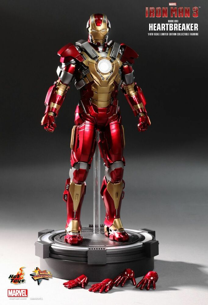 HOT TOYS 1/6 MARVEL IRON MAN 3 MMS212 MK17 MARK XVII HEARTBREAKER ACTION  FIGURE 4897011175393 | EBay
