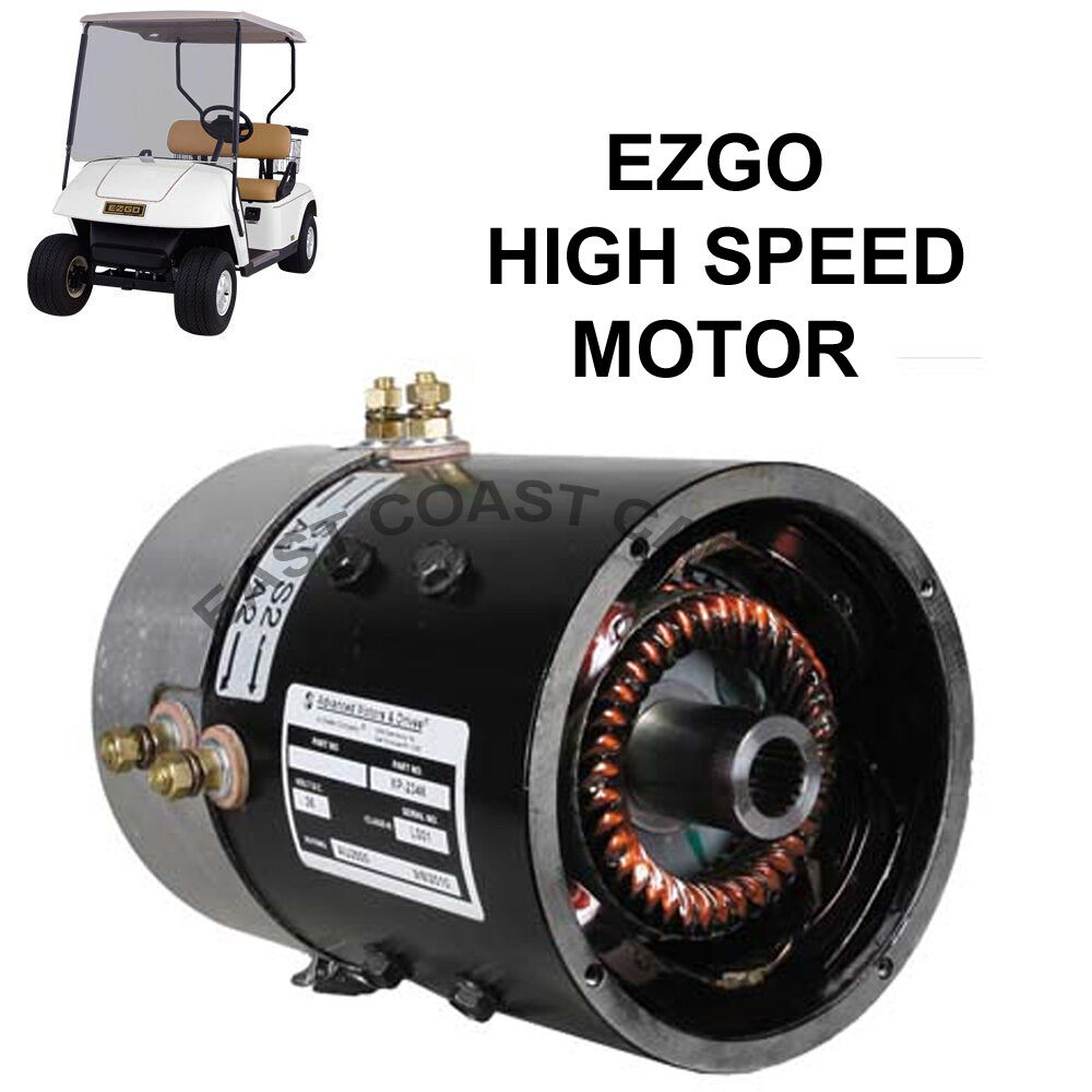 Ezgo 36 Volt Series Golf Cart High Speed Motor  Up To