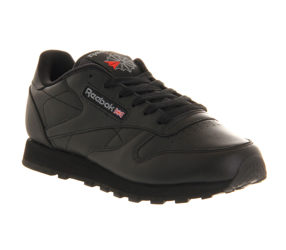 Reebok Leather Casual Shoes Mens