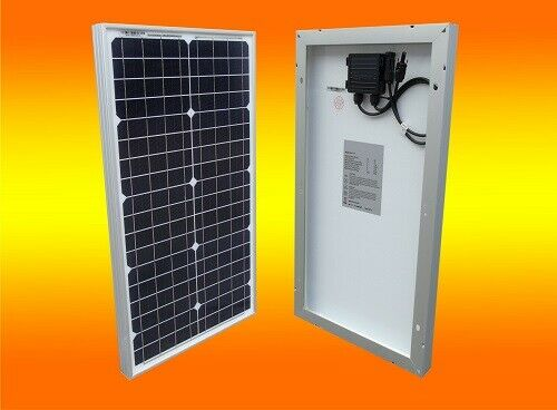 30watt mono solarmodul pv solarpanel 12v mit mc4 stecker 30w ebay. Black Bedroom Furniture Sets. Home Design Ideas