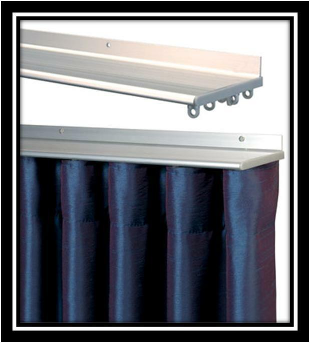 400cm Air Track Perfect Pleat TOP FIX For All Curtains