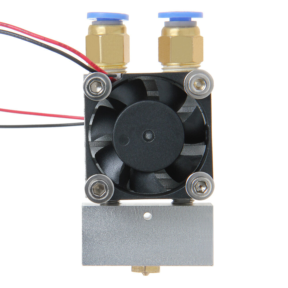 Latest Extruder Dual Extrusion 2in-1 Out Hotend 0.5mm