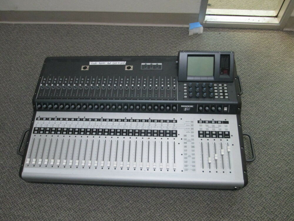 mackie tt24 digital sound board mixer with ufx ii expansion card for repair ebay. Black Bedroom Furniture Sets. Home Design Ideas