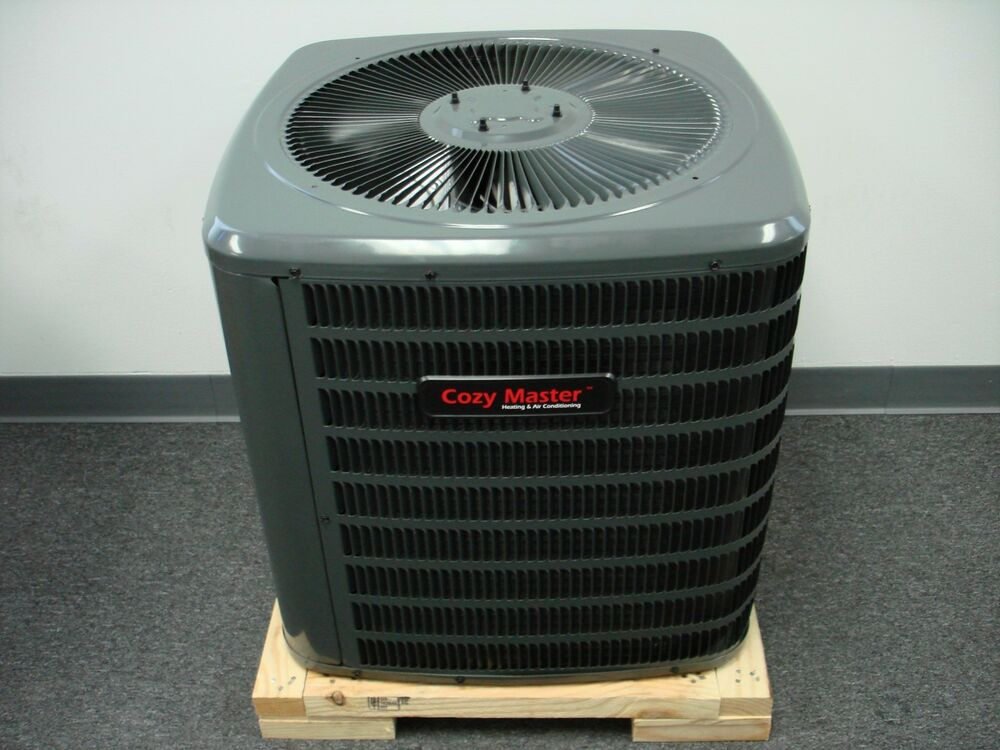 Central Heating Amp Cooling Unit : Ton seer cozy master™ central ac unit gsz heat