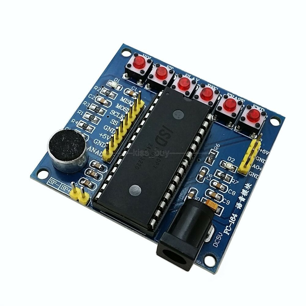 Isd series voice record player module for avr