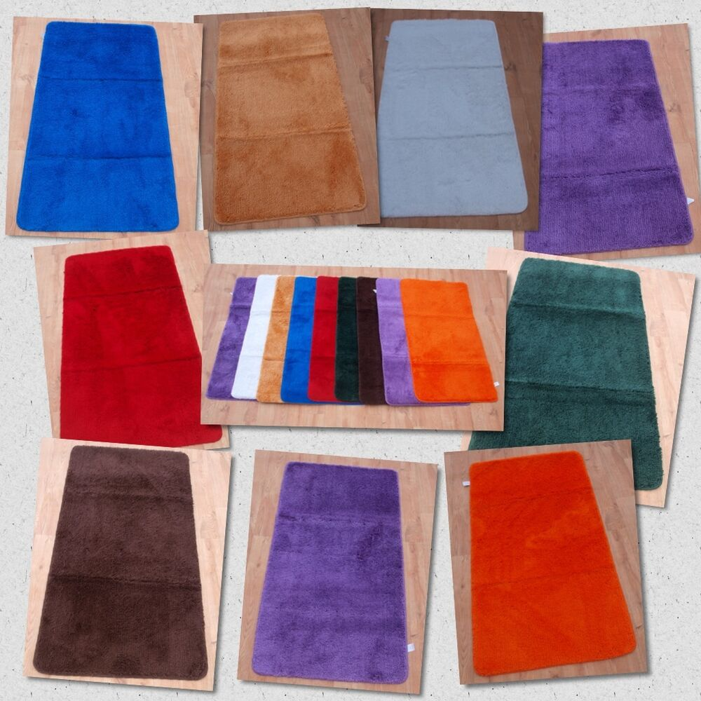 Small non slip machine washable mats soft plain shaggy for Small rug for bedroom