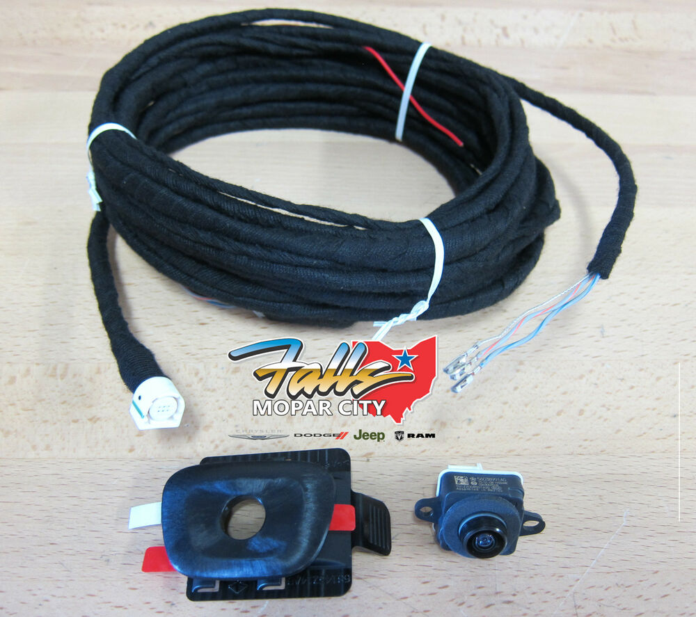 s l1000 mopar backup camera parts & accessories ebay Light Switch Wiring Diagram at n-0.co