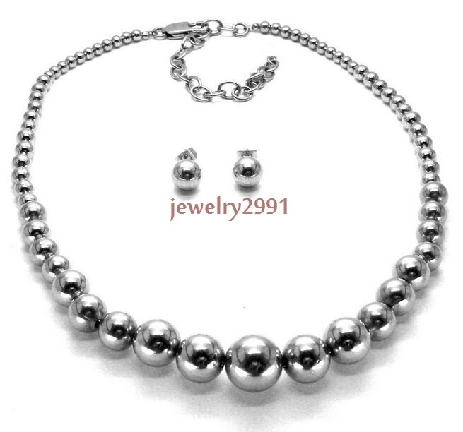 fashion jewelry for women silver tone stainless steel big ...