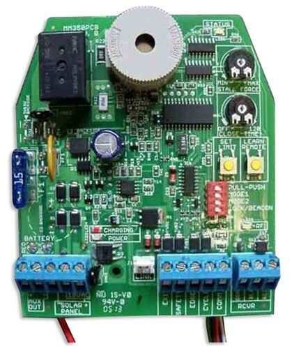 mighty mule fm352 parts r4052 circuit board gate operator control board 602589666358