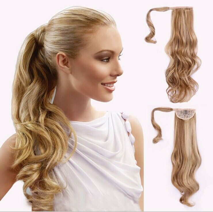 New Arrival Curly Clip In Wrap Around Ponytail Hair