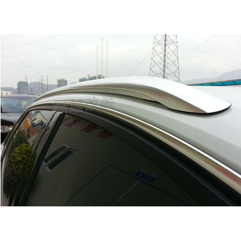 Accessories Silver Top Rail Rack Roof Rack Bars Cover For