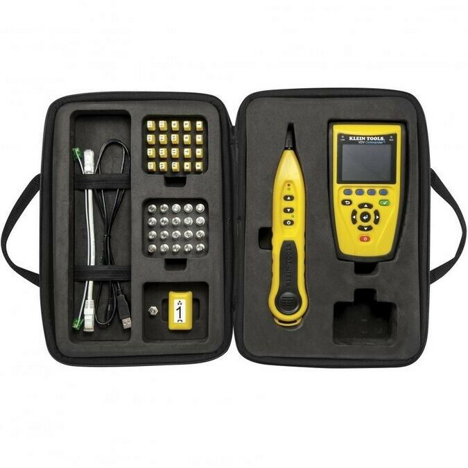 Data Cable Tester : Klein tool vdv commander test tone kit voice data video