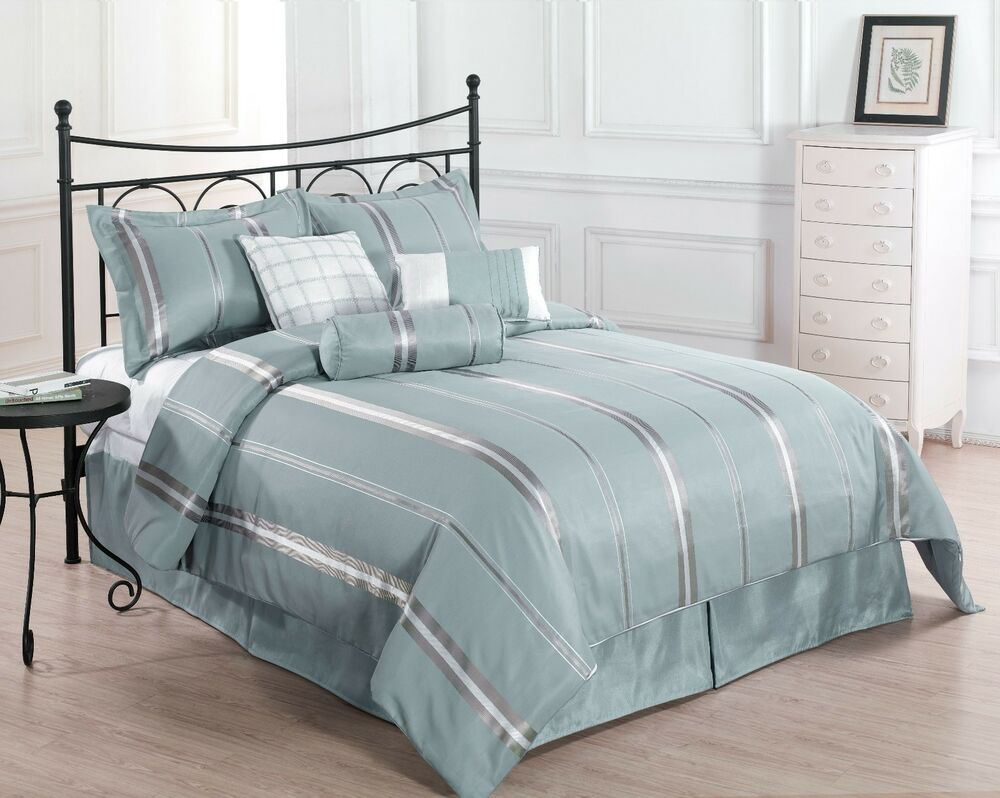 Final Sale Park Avenue King Size Bed 7pc Comforter Set